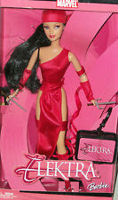 Elektra Barbie doll Super Friends hero villain action figure Xmas gift gay int