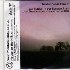 "(DB214) Double A Side Split 7"", Rob ST John - Your Phantom Limb - 2011 DJ CD"