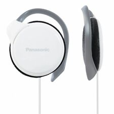 Panasonic RP-HS46 White Slim Clip-on Over Ear Stereo MP3 Player iPod Headphones