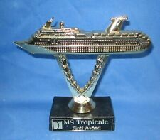 Carnival Cruise Lines ~ Ship on a Stick Award ~ MS Tropicale