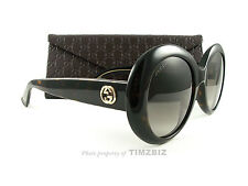 New Gucci Sunglasses GG 3815/S Dark Havana KCLHA Authentic Made in Italy