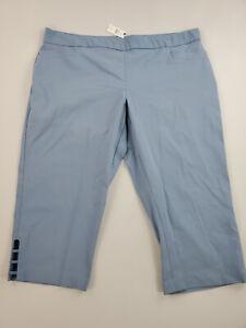 new TALBOTS Plus women shorts 182 02 00 327750 06 52884498 blue 22W $99