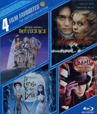 4 Film Favorites Tim Burton Collectio 0883929400676 Blu Ray Region a