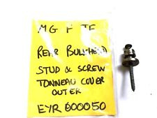 MGF TF tonneau cover outer shoulder stud and screw EYR000050