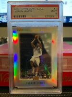 2003 TOPPS CONTEMPORARY COLLECTION LEBRON JAMES RC ROOKIE #1 PSA 9 *POP  33*