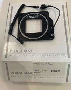 Phase One Mamiya RZ67 Digital Adapter Back For Hasselblad V W/6x6