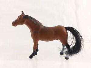 "MMTL 1998 Arab Plastic Toy Horse Figure 2"" Tall 3"" Long"
