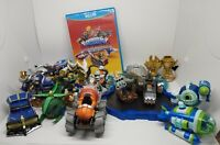 18 Skylanders SuperChargers Lot Bundle with Portal, Game, and Trophies Wii U Lot