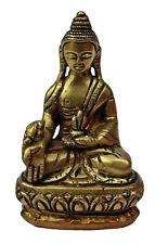 Vairocana Buda, dhyani Buda, latón ca 250 g, transzendenter buda