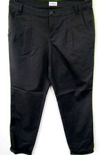 new ladies sample piece Chinos Stretch Waistband Folds Textile Trousers