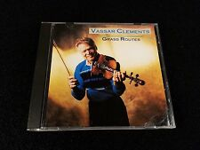 Vassar Clements Grass Routes Rounder Cd 0287 Jim and Jessie J.D. Crowe on Banjo