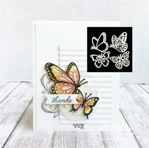 Scrapbooking Cards Christmas Card Layered Butterfly 3D Metal Cutting Dies Making