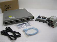 MAKE ME AN OFFER Cisco N3K-C3064PQ-10GE Nexus 3064-E Switch 48 SFP+ 4 QSFP+ 2xAC