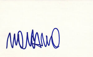 UFC MMA Renato Moicano autographed signed 3x5 index card
