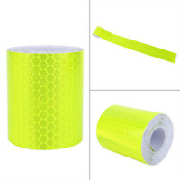 Night Reflective Safety Warning Conspicuity Roll Tape Film Sticker 3Mx5cm