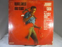Blood Sweat And Tears US LP Johnny Cash CL 1930 MONO Vinyl VG+ cover VG 1962