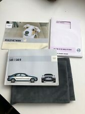 GENUINE VOLVO S60 HANDBOOK OWNERS MANUAL AND WALLET 2010-2013 PACK D-905