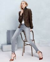 J Crew Women's Schoolboy blazer in beaded tweed  6
