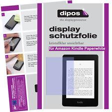 2x Amazon Kindle Paperwhite Schutzfolie klar Displayschutzfolie Folie unsichtbar