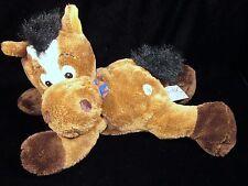 Sunkid Brown Horse Plush Lorsch Germany Stuffed Animal Soft Toy