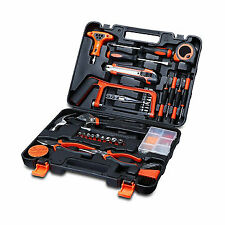 Garage Tools Set Tool Box Diy General Home Improvement Hand Tool Kit Household