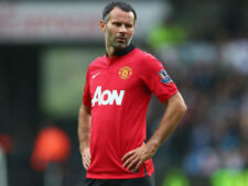 RARE #11 Giggs Nike Manchester United EPL 2013/14 Home Shirt Mens Medium