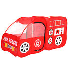 Fire Engine Design Folding Portable Playpen Tent Baby Play Yard Red W Cloth Bag