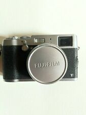 Fujifilm X100T 16.3 MP SILVER with Leather Cover