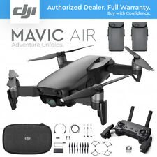 DJI MAVIC AIR Foldable & Portable Drone Camera - ONYX BLACK - EXTRA BATTERY