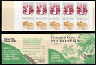 Micronesia 1988 Local Scenes 10 Stamp Booklet Pane 13Q-065