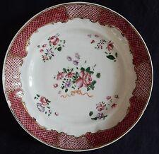 ** Assiette creuse (ancienne) en PORCELAINE DE CHINE (Chinese Porcelain)
