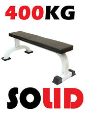 New Commercial Grade Flat Weight Lifting Bench Press Sit Up Exercise Workout