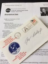 """Signed Apollo 11 Cover """"Jay Buckey Jr"""" With Official Biographical Data"""