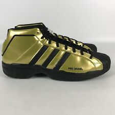 Adidas Pro Model 2G All Star West Basketball Shoes Men's Size 13.5 Gold FV8922