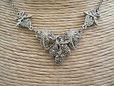 Unbranded Silver Marcasite Vintage Costume Jewellery