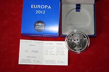 Monnaie de paris avec coffret- EUROPA 2012 10€ argent...