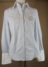Esprit Gestreifte Damenblusen,-Tops & -Shirts mit Klassischer Kragen und Baumwolle