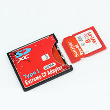 WiFi SD/SDHC/SDXC To CF Type Compact Flash Card CF Card Adapter Reader H-speed