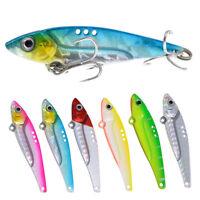 5g/12g/17g/20g 4Pcs Fishing Lures Spinners Plugs Fish Bait Box Set AU