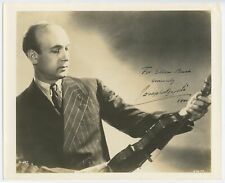 Joseph SZIGETI (Violinist): Signed Photograph