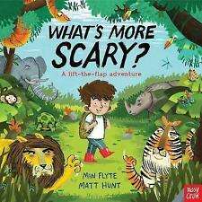 What's More Scary? (Lift the Flap) by Matt Hunt | Hardcover Book | 9780857634139