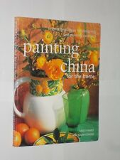 Painting China For The Home. Lesley Harle & Susan Conder. Softback Book 2003.