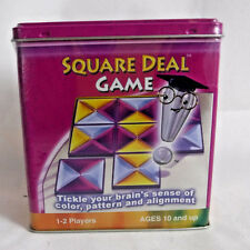 Brain-Ade Square Deal Game 1-2 Players Ages 10+ - Sharpen Your Mental Agility