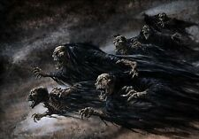 WRIGHTSON DARK FORCES COVER! HUGE PAINTING (ACTUALLY SEEN IN STEPHEN KING MOVIE)