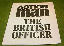 VINTAGE ACTION MAN 40th MANUAL LEAFLET THE BRITISH OFFICER
