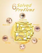 GOLD Collagen Crystal Eye Mask Anti Ageing Wrinkles Bags Dark Circle Eye Patch