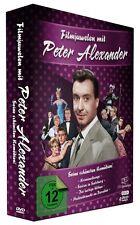 Filmjuwelen mit Peter Alexander (u.a. Kriminaltango, Die lustige Witwe) - 4 DVDs