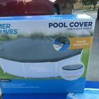 Pool Cover 8ft and 10ft Framed & inflatable Ring Pools w/ Drawstring strong lock
