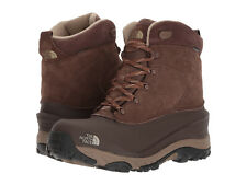 North Face 39v6 Mens Chilkat III Winter WP Boots Carafe Brown Bracken NWoT