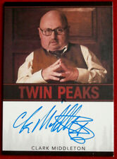 David Lynch's TWIN PEAKS  - CLARKE MIDDLETON - Autograph Card, Rittenhouse 2018